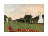 Schloss Nymphenburg Giclee Print by Mima Nixon