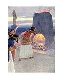 The Fiery Furnace Giclee Print by William Henry Margetson