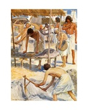 The Egyptian Bondage Giclee Print by William Henry Margetson