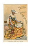 Chatelaine, Milieu de XVe Siecle Giclee Print by Albert Robida