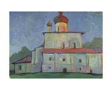 Church in the Evening Sun, 1967 Giclee Print by Nina Ivanovna Shirokova