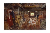 Barn Proposal, 1904 Giclee Print by Nikolai Astrup