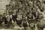 Beach Party, 1917 Photographic Print by  American Photographer