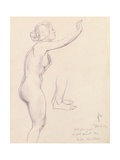 Study for Perseus and Andromeda, 1918 Giclee Print by Felix Edouard Vallotton