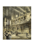 Coronation Evening, London 1937, 1937 Giclee Print by Jack Coburn Witherop
