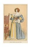 Fin Du Regne de Louis XIII Giclee Print by Albert Robida