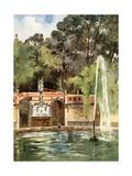 Necessidades Palace, Lisbon Giclee Print by Mima Nixon