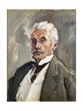 Portrait of Carl Steinbart, 1910 Giclee Print by Max Slevogt