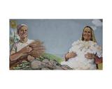 Good Harvest!, c.1940s Giclee Print by Galina Konstantinovna Shubina