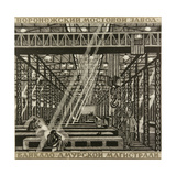 In the Welding Workshop, 1978 Giclee Print by Masabikh Akhunov