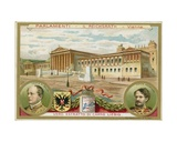 Vienna, Parliament Giclee Print by  European School