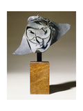 Head of a Man; Tete d'Homme, 1927 Giclee Print by Pablo Gargallo