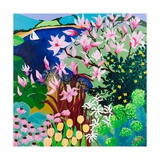 Magnolias in Salcombe, 2013 Giclee Print by Maggie Rowe