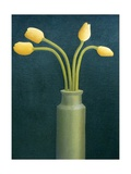 Four Yellow Tulips, 1982 Giclee Print by Ann Brain