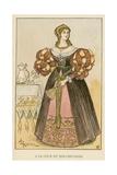 A La Cour Du Roi-Chevalier Giclee Print by Albert Robida