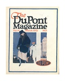 Travellers, Front Cover of the 'Dupont Magazine', March 1921 Giclee Print by  American School