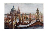 Oxford from an Upper Window Giclee Print by William Matthison