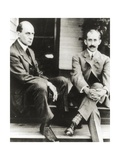 The Wright Brothers, Orville and Wilbur Wright, 1909 Impressão fotográfica