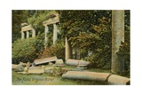 The Ruins at Virginia Water at Windsor Great Park, England. Postcard Sent in 1913 Giclee Print by  English Photographer