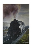 Train Coming, Solid Steam, 2013 Giclee Print by Kevin Parrish