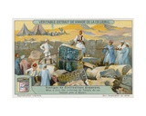Remains of Ancient Civilisations Giclee Print by  European School