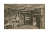 Birthroom, Shakespeare's House, Stratford Upon Avon. Postcard Sent in 1913 Giclee Print by  English Photographer