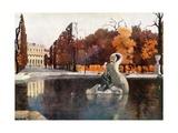 The Palace, Schonbrunn Giclee Print by Mima Nixon