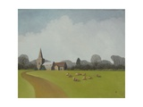 North Kilworth, 2005 Giclee Print by Ann Brain