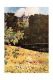 Schloss Zu Gmunden from the Chestnut Avenue Giclee Print by Mima Nixon