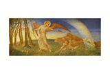 The Awakening, 1904 Giclee Print by Phoebe Anna Traquair