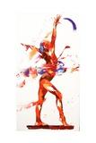 Penny Warden - Gymnast Four, 2010 Digitálně vytištěná reprodukce