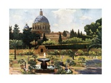 The Sunk Garden, the Vatican, Rome Giclee Print by Mima Nixon