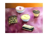 Five Cakes, 1988 Giclee Print by Ann Brain