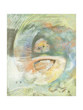 Monster Submarine; Monstre Sous-Marin, c.1900 Giclee Print by Odilon Redon