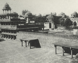 The Deserted City of Fatehpur Sikri, January 1912 Photographic Print by  English Photographer