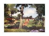 Chateau Sofiero Giclee Print by Mima Nixon