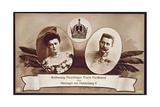 Archduke Franz Ferdinand of Austria, Heir to the Austrian Throne and His Wife, Duchess of… Giclee Print by  Austrian School