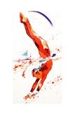 Penny Warden - Gymnast Three, 2010 Digitálně vytištěná reprodukce