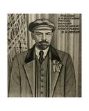 Vladimir Ilyich Lenin, 1976 Giclee Print by Masabikh Akhunov