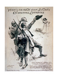 Come to the Aid of the Soldiers of Alsace and Lorraine, 1916 Giclee Print by Emile Friant