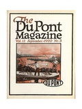 Trapshooting, Front Cover of the 'Dupont Magazine', September 1920 Giclee Print by  American School