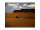 Ploughed Field, 1990 Giclee Print by Ann Brain