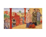 A Chinese Wedding, 1941 Giclee Print