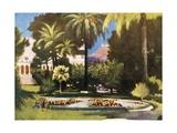 The Royal Palace, Athens Giclee Print by Mima Nixon