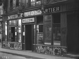 The Bouillon Camille Chartier Welcoming the Customer in English Language, Paris Photographic Print by Jacques Moreau