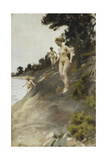 Frightened; Skramda, 1912 Giclee Print by Anders Leonard Zorn