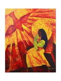 Annunciation, 2011 Giclee Print by Patricia Brintle