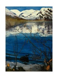 March Mood at Jølstervannet, 1905 Giclee Print by Nikolai Astrup