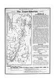 Karte von the Trans-Siberian Railway, Produced by J. Bartholomew and Co., c.1920 Giclée-Druck von  English School