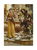 The Flower Garland, 1900 Giclee Print by Francis William Topham